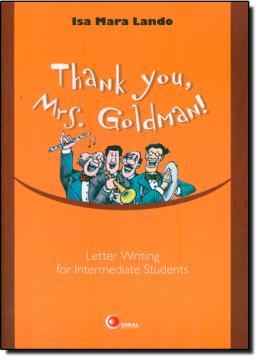THANK YOU, MRS. GOLDMAN!