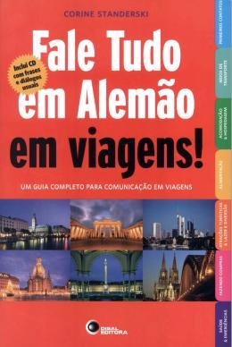 FALE TUDO EM ALEMAO EM VIAGENS! COM CD AUDIO