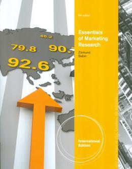 ESSENTIALS OF MARKETING RESEARCH - INTERNATIONAL EDITION