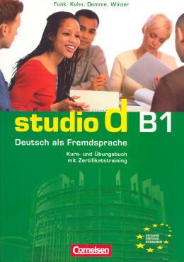 STUDIO D - 3 KURS UND UBUNGSBUCH + CD - COL. STUDIO D