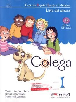 COLEGA 1 - LIBRO DEL ALUMNO + CD AUDIO