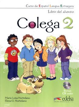 COLEGA 2 - LIBRO DEL ALUMNO + CD AUDIO