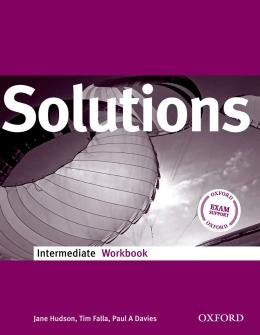 SOLUTIONS INTERMEDIATE WB - 1ST ED