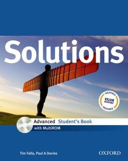 SOLUTIONS ADVANCED SB WITH CD-ROM - 1ST ED