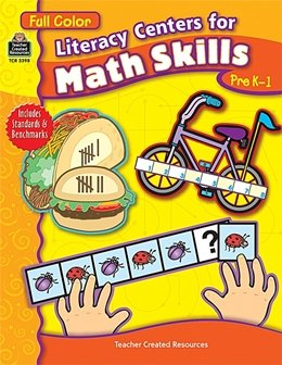 LITERACY CENTERS FOR MATH SKILLS