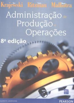 ADMINISTRACAO DE PRODUCAO E OPERACOES - 8º EDICAO