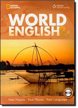 WORLD ENGLISH 2A COMBO SPLIT SB WITH CD-ROM - 1ST ED