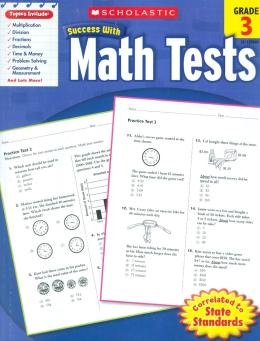 SCHOLASTIC SUCCESS WITH MATH TESTS - GRADE 3