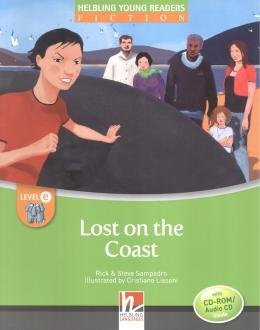 LOST ON THE COAST WITH CD-ROM /AUDIO CD