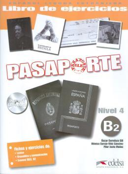 PASAPORTE 4 - LIBRO DE EJERCICIOS B2 + CD AUDIO