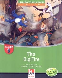 BIG FIRE - LEVEL A WITH CD-ROM AUDIO CD