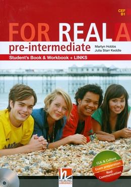 FOR REAL PRE-INTERMEDIATE A SB/WB/LINKS + CD/CDROM