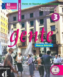 GENTE 3 - LIBRO DEL ALUMNO + CD