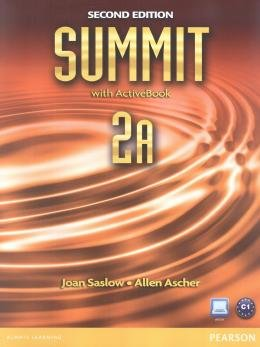 SUMMIT 2A SB & WB WITH ACTIVE BOOK + CD - 2ND ED