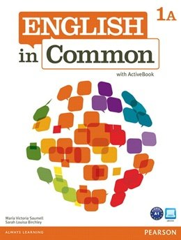ENGLISH IN COMMON 1A SPLIT SB AND WB WITH ACTIVEBOOK WITH CD - 1ST ED