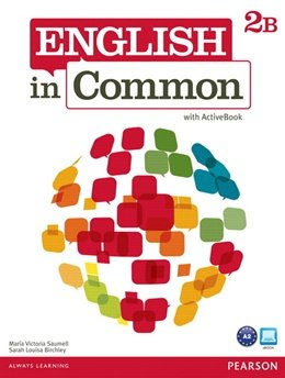 ENGLISH IN COMMON 2B SPLIT SB WITH ACTIVEBOOK AND WB  - WITH CD- 1ST ED