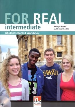 FOR REAL INTERMEDIATE SB/WB WITH CD-ROM - 1ST ED