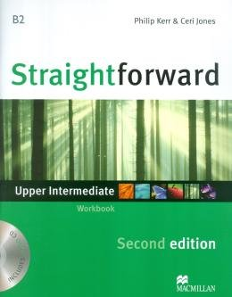STRAIGHTFORWARD UPPER INTERMEDIATE WB WITH CD NO KEY - 2ND ED