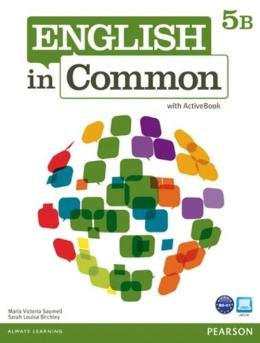 ENGLISH IN COMMON 5B SPLIT SB WITH ACTIVEBOOK - 1ST ED