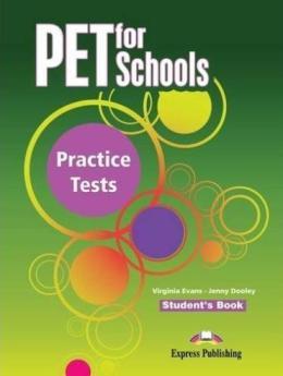 PET FOR SCHOOLS PRACTICE TESTS SB