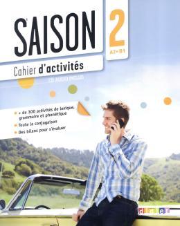 SAISON 2 CAHIER D´ACTIVITES + CD (A2+)