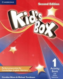 KIDS BOX 1 AB WITH ONLINE RESOURCES - BRITISH - 2ND ED