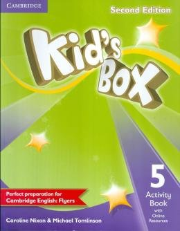 KIDS BOX 5 AB WITH ONLINE RESOURCES - 2ND ED - BRITISH