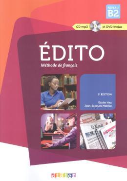 EDITO B2 LIVRE + CD MP3 + DVD - 3ª ED