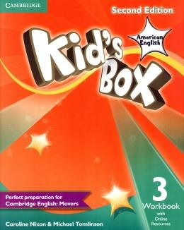 KIDS BOX AMERICAN ENGLISH 3 WB WITH ONLINE RESOURCES - 2ND ED