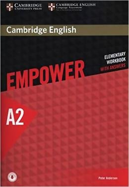 CAMB ENG EMPOWER ELEM WB ANSW W/ ONLINE CD