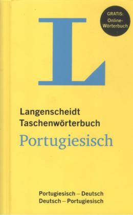 LANGENSCHEIDT TASCHENWORTERBUCH PORTUGIESISCH - NE