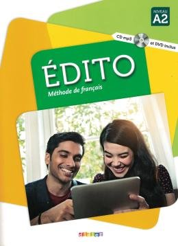 EDITO A2 LIVRE + CD MP3 + DVD - 3ª ED