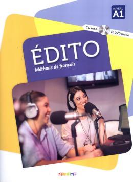 EDITO A1 LIVRE + CD MP3 + DVD - 3ª ED