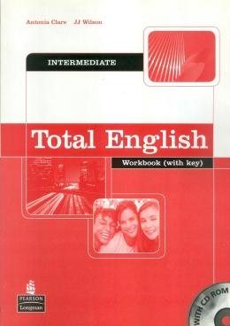TOTAL ENGLISH INTERMEDIATE WB WITH KEY AND CD-ROM - 1ST ED