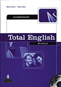 TOTAL ENGLISH ELEMENTARY WB WITHOUT KEY WITH CD-ROM - 1ST ED