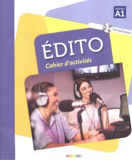 EDITO A1 CAHIER D´EXERCICES + CD MP3 - 3ª ED