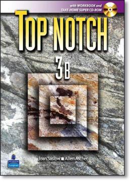 TOP NOTCH 3B SPLIT WITH WB+CD-ROM - 1ST ED