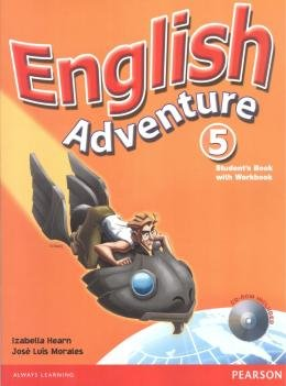 ENGLISH ADVENTURE 5 SB/WB WITH CD-ROM