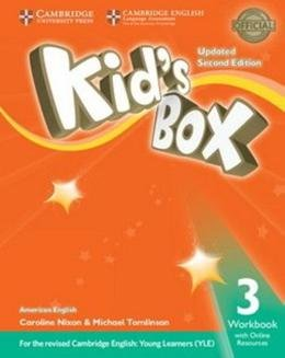 KIDS BOX AMERICAN ENGLISH 3 WB WITH ONLINE RESOURCES - UPDATED 2ND ED