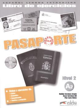 PASAPORTE 2 - LIBRO DE EJERCICIOS A2 + CD-AUDIO