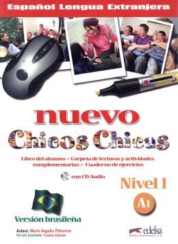 NUEVO CHICOS CHICAS 1 - A1 - LIBRO DEL AL.+ EJ. + CD - VERSION BRASILENA