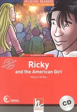 RICKY AND THE AMERICAN GIRL - ELEMENTARY-WITH CD