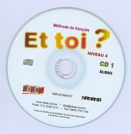 ET TOI 4? (B1.1) - CD CLASSE (2) - NACIONAL