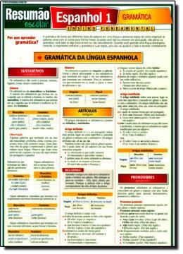 ESPANHOL 1 - GRAMATICA