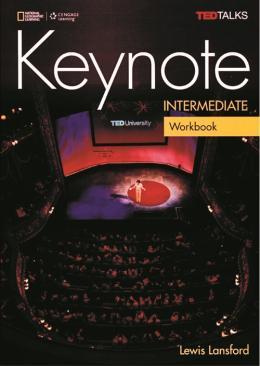 KEYNOTE INTERMEDIATE WB WITH AUDIO CD - BRITISH