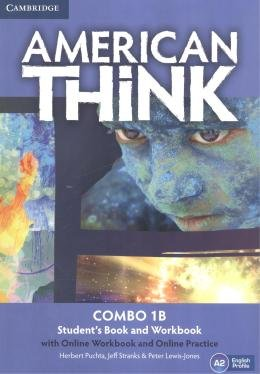AMERICAN THINK 1B COMBO SB WITH ONLINE WB AND ONLINE PRACTICE - 1ST ED