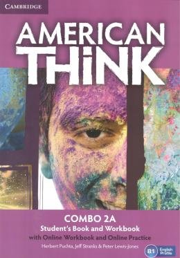 AMERICAN THINK 2A COMBO SB WITH ONLINE WB AND ONLINE PRACTICE - 1ST ED
