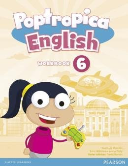 POPTROPICA ENGLISH 6 WB AND AUDIO CD PACK - AMERICAN