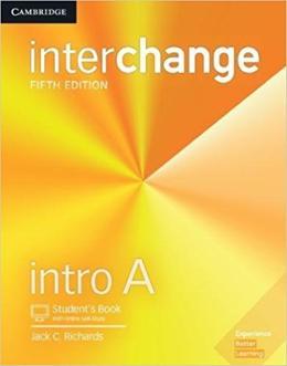 INTERCHANGE INTRO A SB WITH ONLINE SELF-STUDY - 5TH ED
