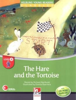 HARE AND THE TORTOISE WITH CD-AUDIO